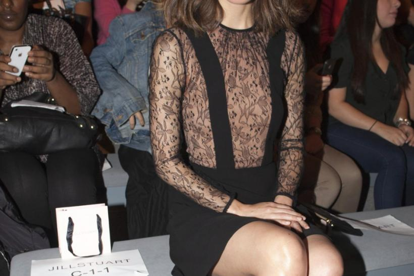 Actress Rose Byrne attends the Jill Stuart Spring/Summer 2013 collection during New York Fashion Week September 8, 2012.