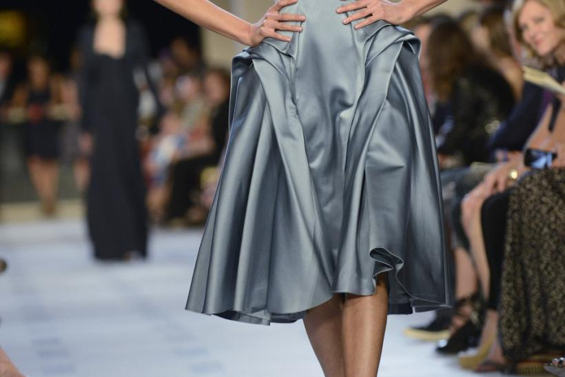 Zac Posen Spring 2013 collection at Mercedes-Benz Fashion Week in New York at Avery Fisher Hall, Sept. 9, 2012