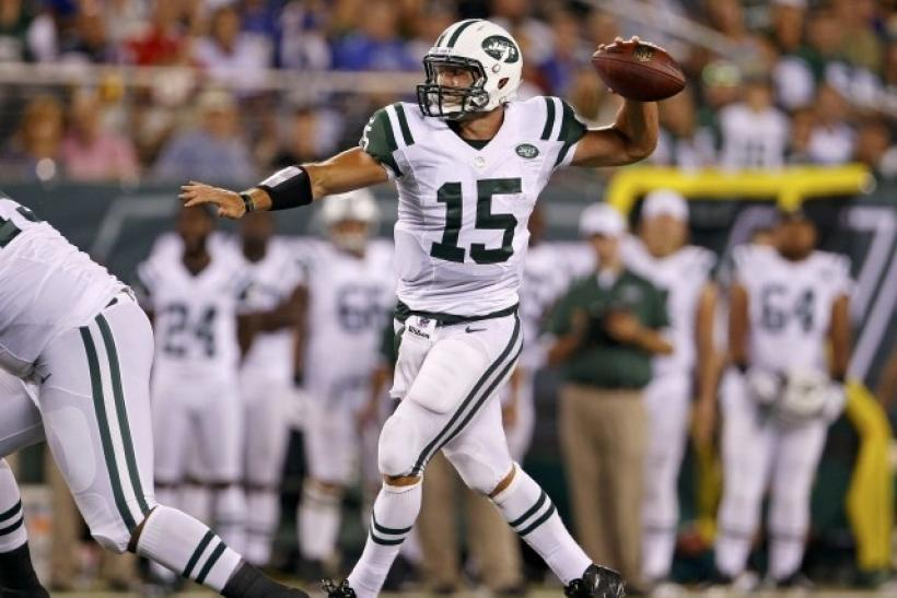 Tim Tebow has thrown one pass in 2012.