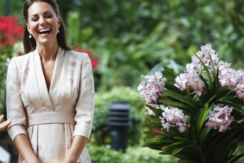 The same day Kate Middleton donned one of her dresses on the first day of her Diamond Jubilee tour, designer Jenny Packham debuted her Spring 2013 collection at New York Fashion Week which she said was based on the women of yesteryear's SIn City.
