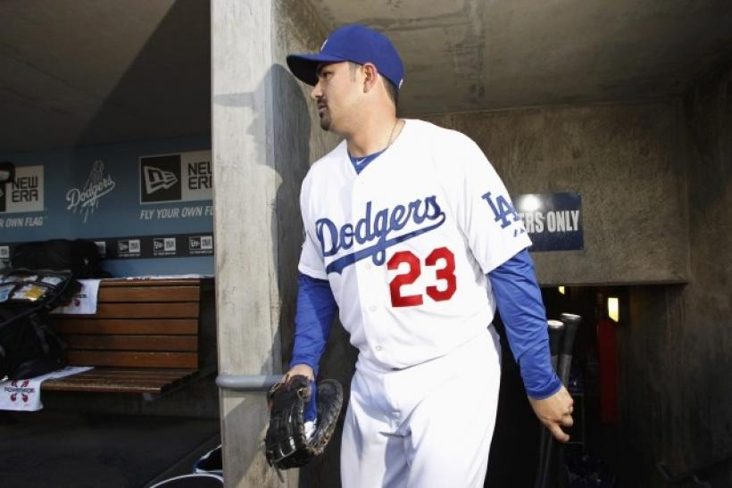 Adrian Gonzalez is hitting just .229 in 17 games with the Los Angeles Dodgers.