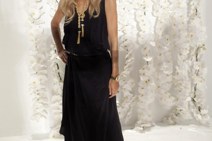 Designer Rachel Zoe is seen before her Spring/Summer 2013 collection presentation during New York Fashion Week September 12, 2012.