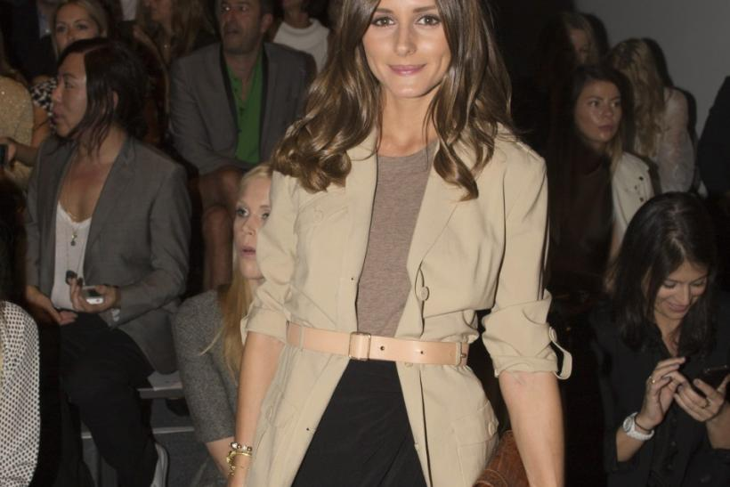 Olivia Palermo attends the Rachel Zoe Spring/Summer 2013 collection during New York Fashion Week September 12, 2012.