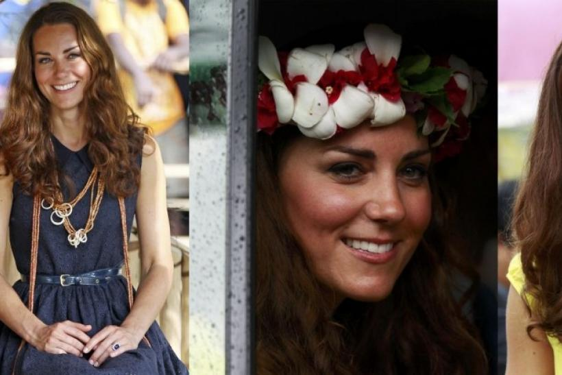 Pacific Trip Brings Back Kate's Radiant Smile