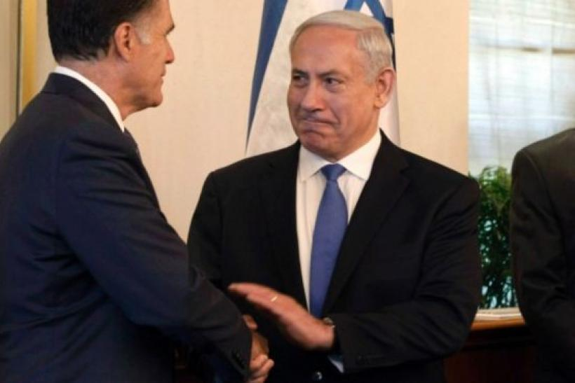 Romney and Netanyahu