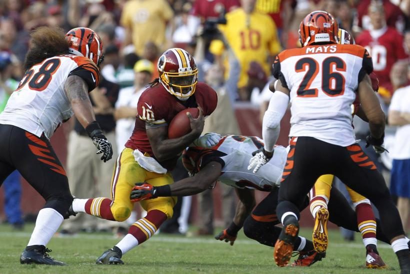 Redskins- Robert Griffin III