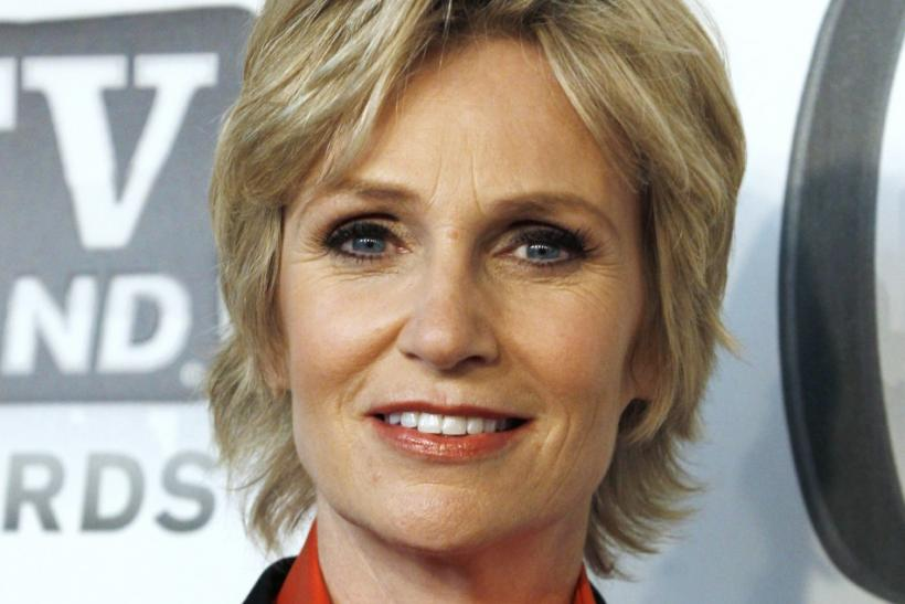 "Actor Jane Lynch arrives at the ""TV Land Awards 2011"" in New York City"
