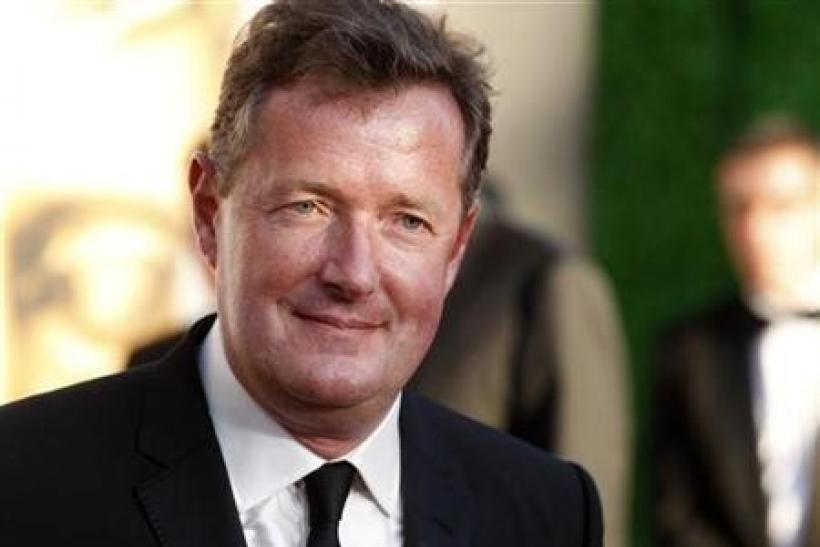 CNN host Piers Morgan