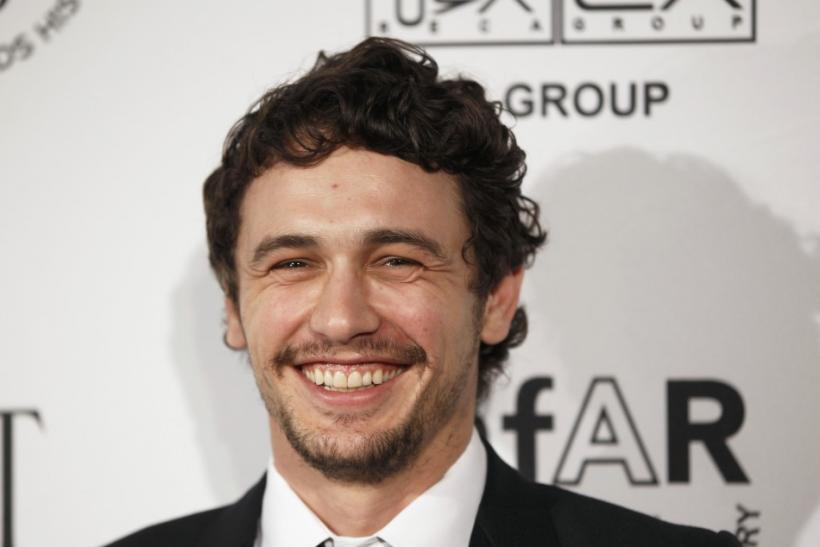 Actor James Franco arrives for the 2nd Annual amfAR Inspiration Gala in New York