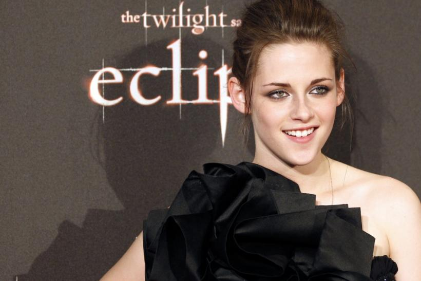 "U.S. actress Stewart arrives for the red carpet to promote the movie ""The Twilight Saga: Eclipse"" in downtown Rome"