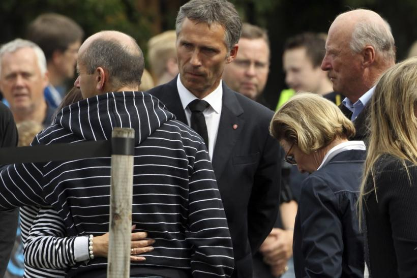 Latest Photos: Royal Reactions to Norway Mass Massacre