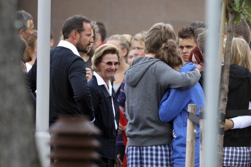 Latest Photos: Royal Reactions to Norway Mass Massacre.