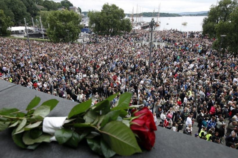 Oslo Norway Mourns