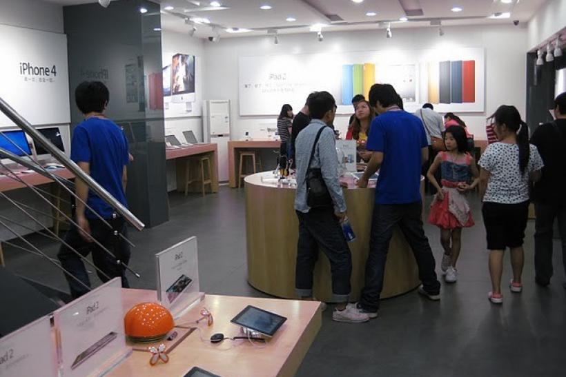 A fake Apple store in Kunming, China.