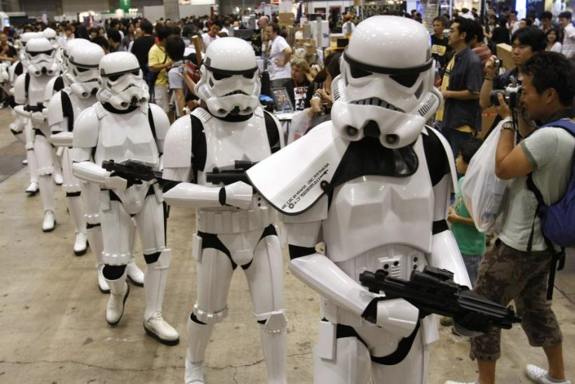 Stormtroopers marching in Japan