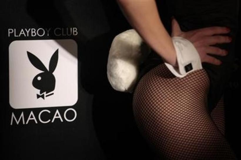 A Playboy Club Macao Logo is pictured