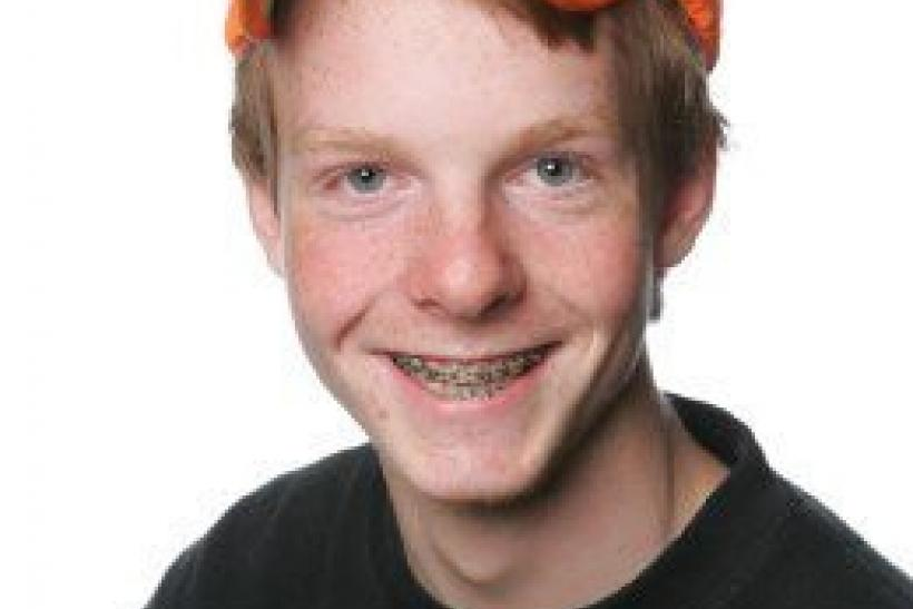 Undated file photo of Eivind Hovden (15) from Tokke, who has been confirmed as one of those killed in the July 22 bomb attack in central Oslo and shooting rampage in Utoeya island