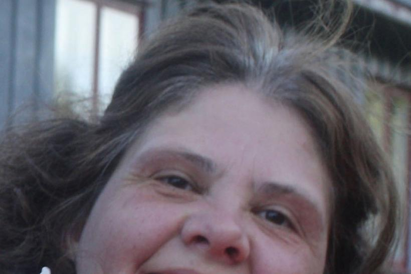 Hanne Fjalestad, 43, from Lunner smiles in an undated handout photo