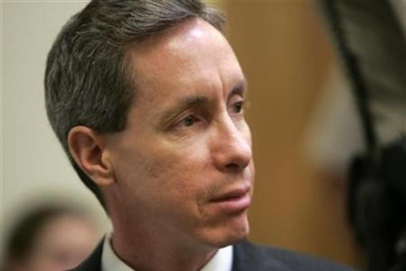 Warren Jeffs looks toward the jury in his trial in St. George, Utah
