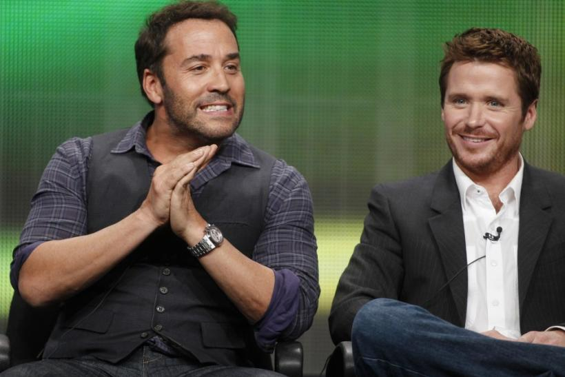 Cast members of the HBO series 'Entourage'at the 2011 Summer Television Critics Association Cable Press Tour in Beverly Hills