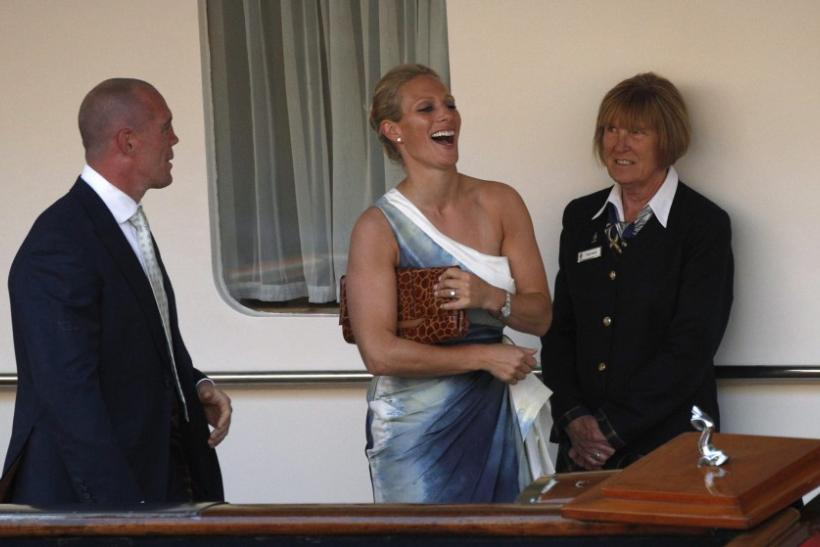 Zara Phillips and Mike Tindall Royal Wedding