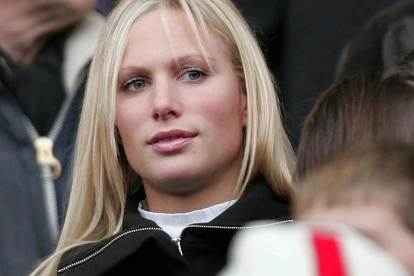 Britain's Zara Phillips, daughter of the Princess Royal watches prior to England's rugby union Test against Australia at Twickenham in London.