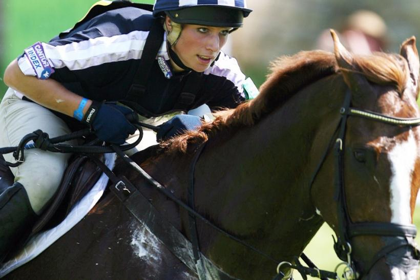 Britain's Zara Phillips, daughter of Princess Royal Anne and her first husband, Captain Mark Phillips