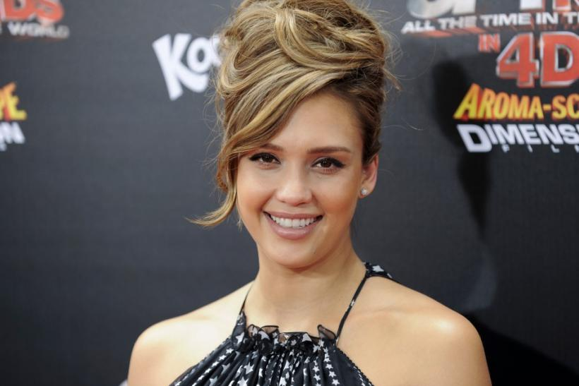 "Actress Jessica Alba arrives at the ""Spy Kids: All the Time in the World in 4D"" premiere in Los Angeles, California"