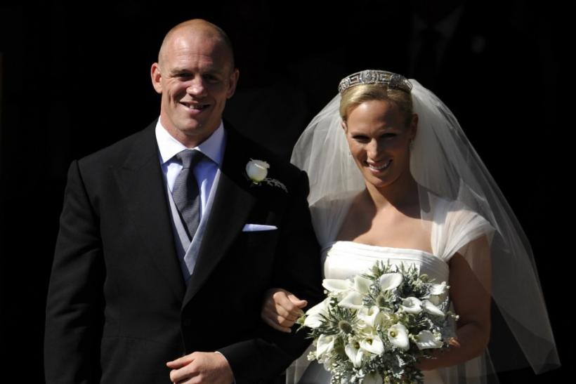 Couple: Mike Tindall & Zara Phillips