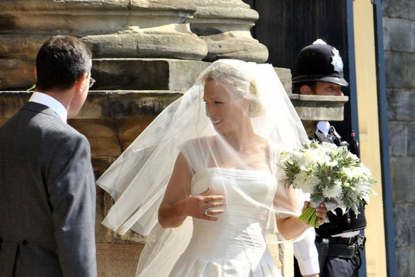 Bridal Dress: Zara Phillips