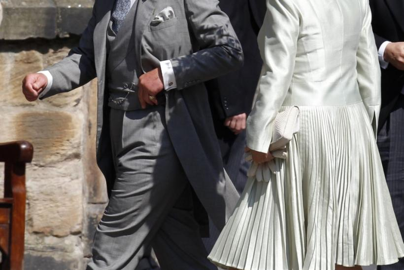 Prince Charles at Zara's Wedding