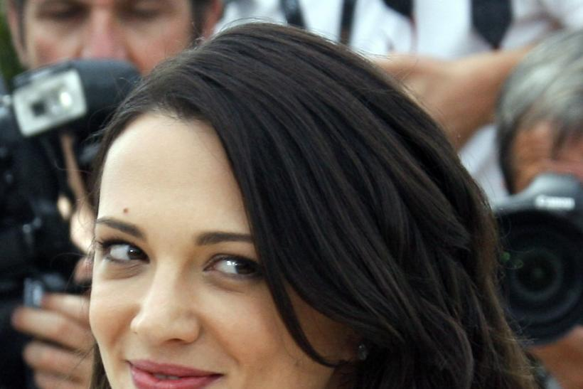 Asia Argento poses during a photocall at the 62nd Cannes Film Festival