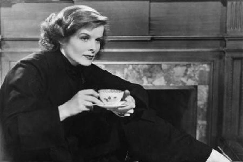 Actress Katherine Hepburn is shown in a scene from the 1933 film ''Christopher Strong​.''