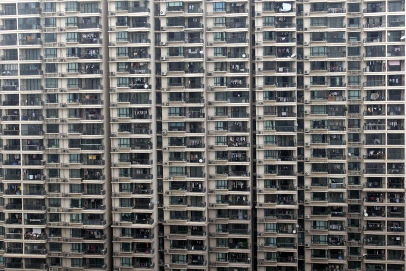 View of a residential building in Shanghai