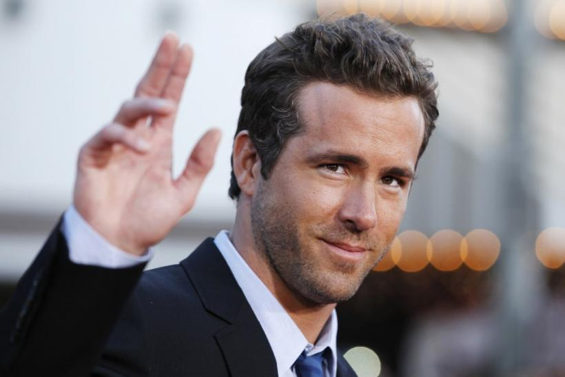 Cast member Ryan Reynolds