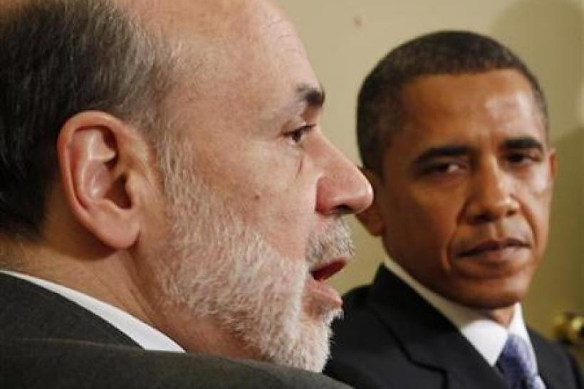 Obama meets with Bernanke