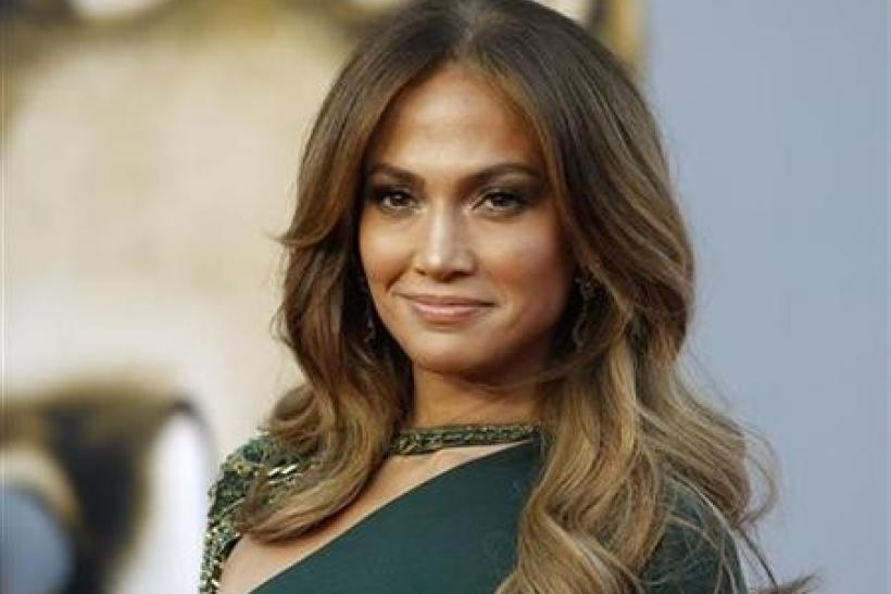 Singer Jennifer Lopez arrives at the BAFTA Brits to Watch event in Los Angeles, California