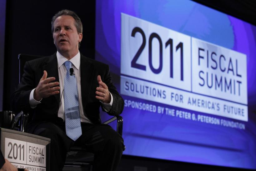 White House senior economic adviser Gene Sperling speaks at the 2011 Fiscal Summit on Solutions for America's future in Washington