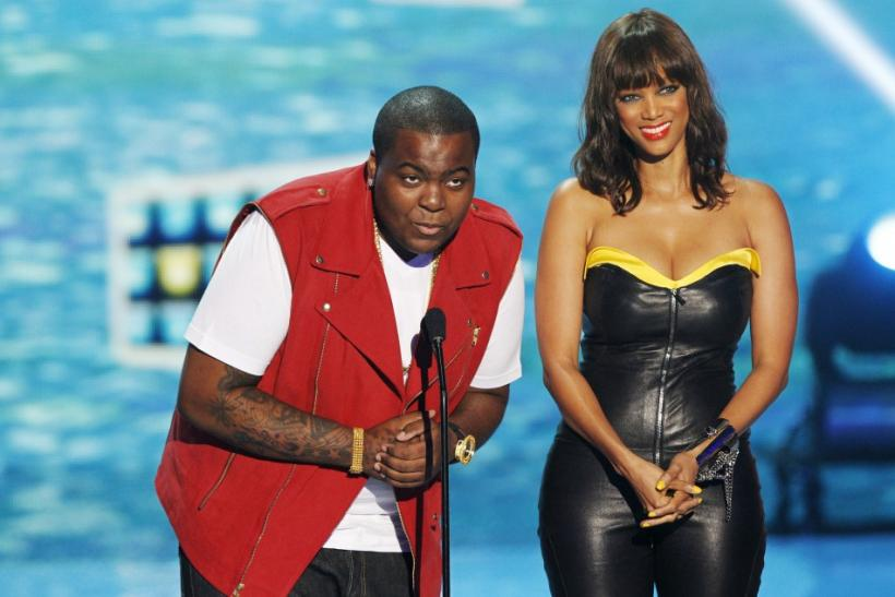 Sean Kingston and Tyra Banks