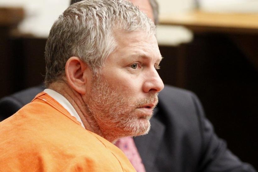 Former Major League baseball player Lenny Dykstra appears in Los Angeles Superior Court for an arraignment in San Fernando, California