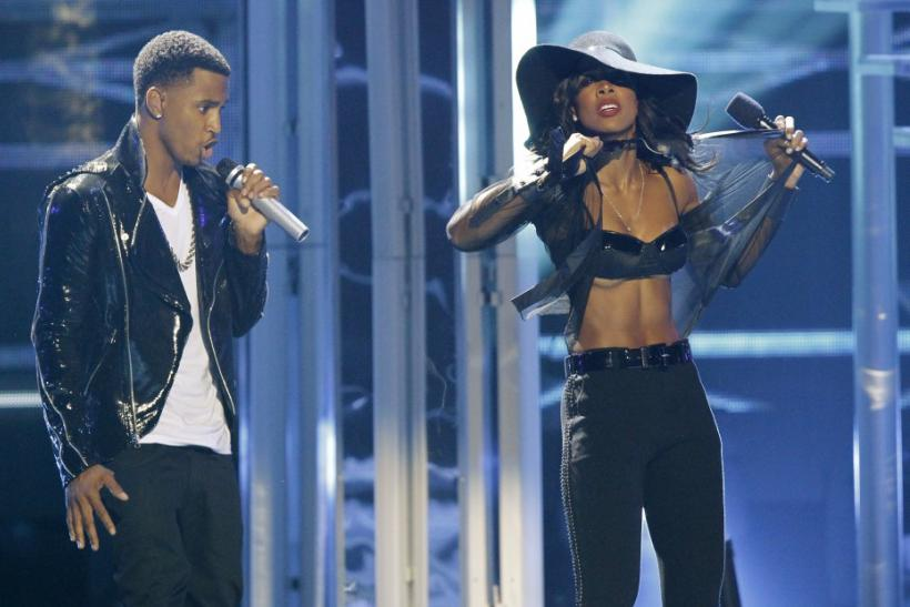 Kelly Rowland and Trey Songz