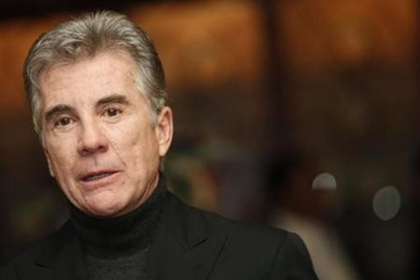 Host and executive producer John Walsh of the series ''America's Most Wanted'' speaks during an interview as he promotes the show's 1000th episode at the Fox Broadcasting Company Winter 2010 Television