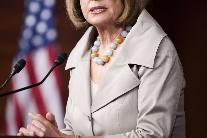 House Minority leader Nancy Pelosi (D-CA)