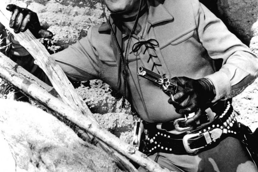 "Actor Clayton Moore, 85, best known as ""The Lone Ranger"","