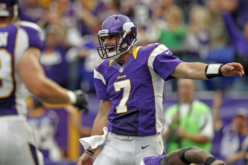 Minnesota Vikings- Christian Ponder