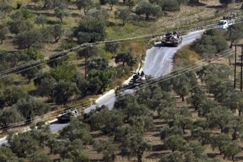 Syrian Tanks, Oct. 13, 2012