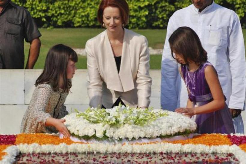 Julia Gillard in India