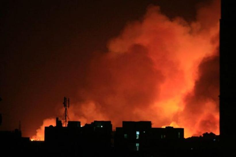 Yarmouk Factory Fire In Khartoum