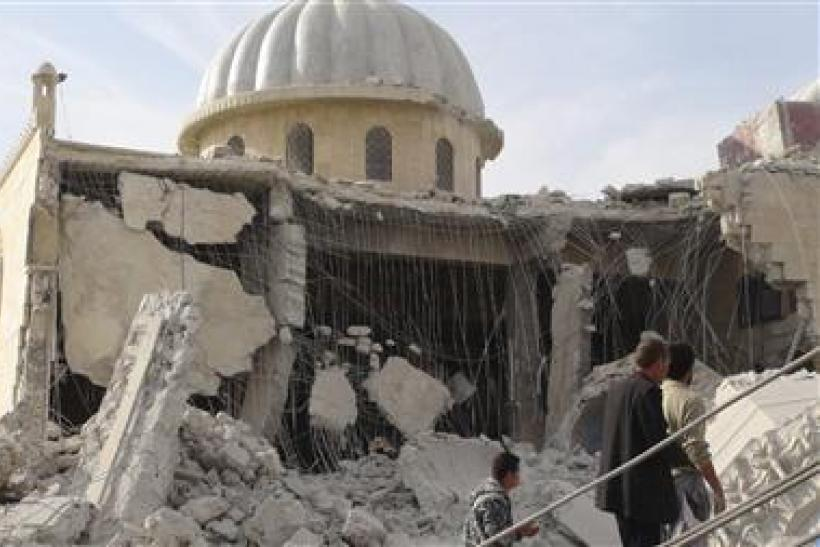 Destroyed Syrian Mosque