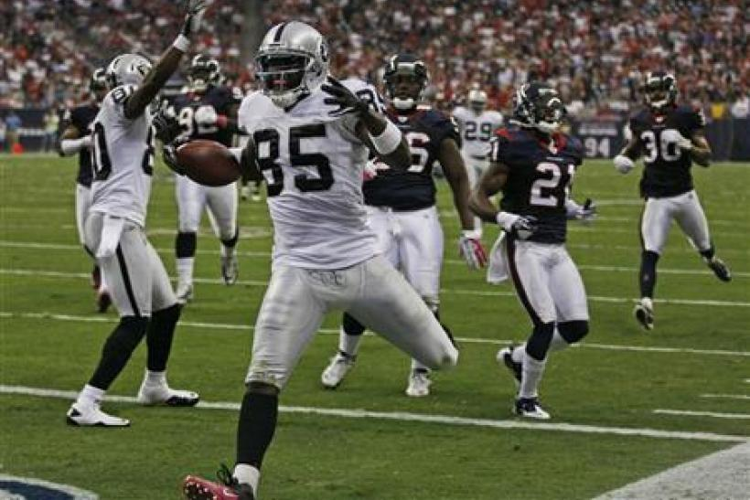oakland raiders- Heyward Bey